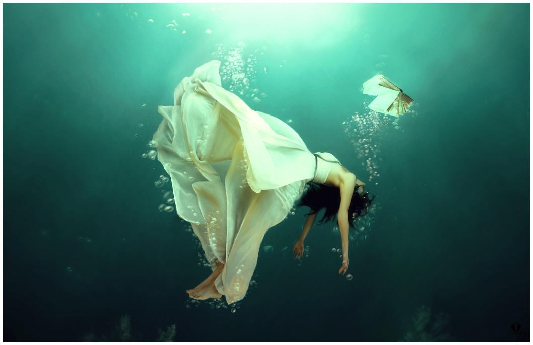 under water, in over my head